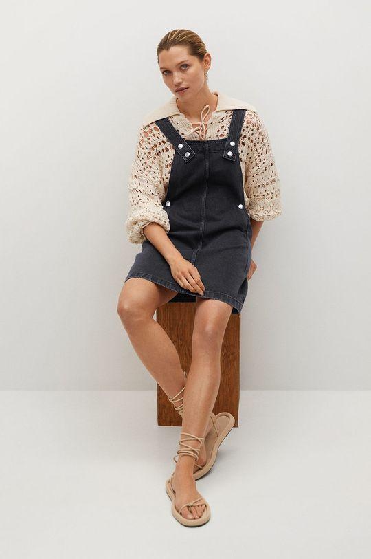Mango - Sukienka jeansowa India Damski