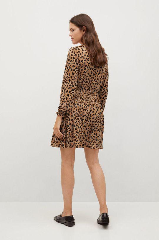 Mango - Sukienka Moss1 brązowy