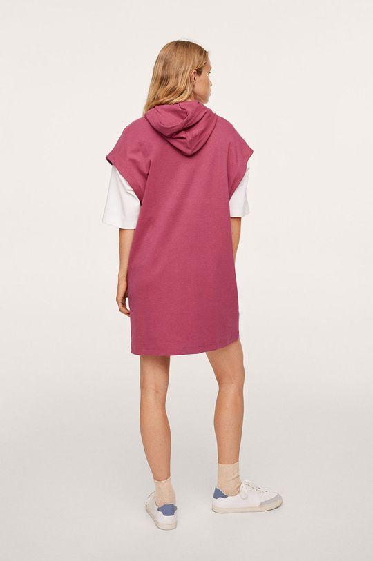 Mango - Šaty Splong  100% Bavlna