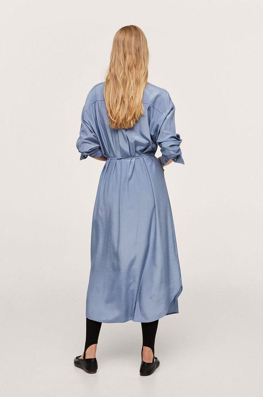 Mango - Šaty Rain modrá