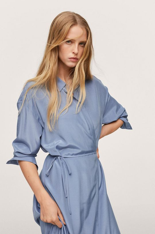 modrá Mango - Šaty Rain