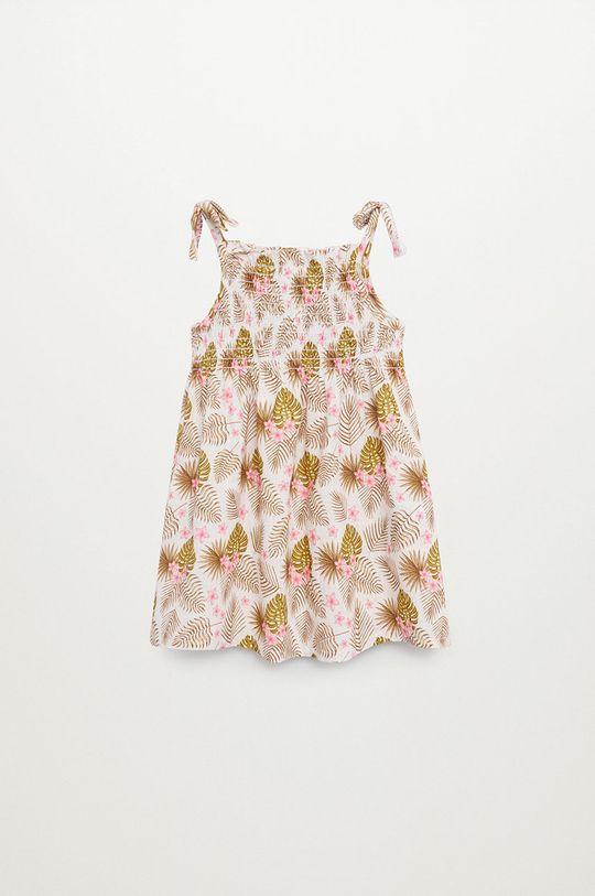 żółty Mango Kids - Sukienka dziecięca JULES