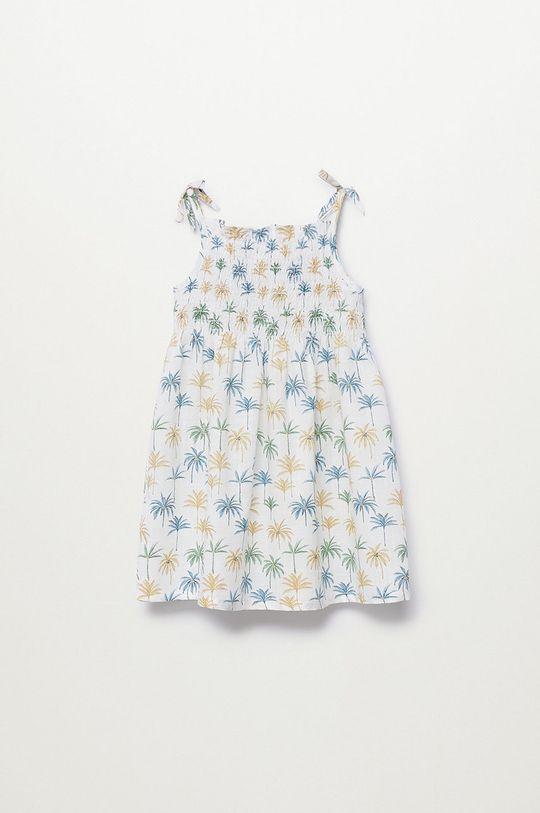 Mango Kids - Dívčí šaty JULES  100% Bavlna