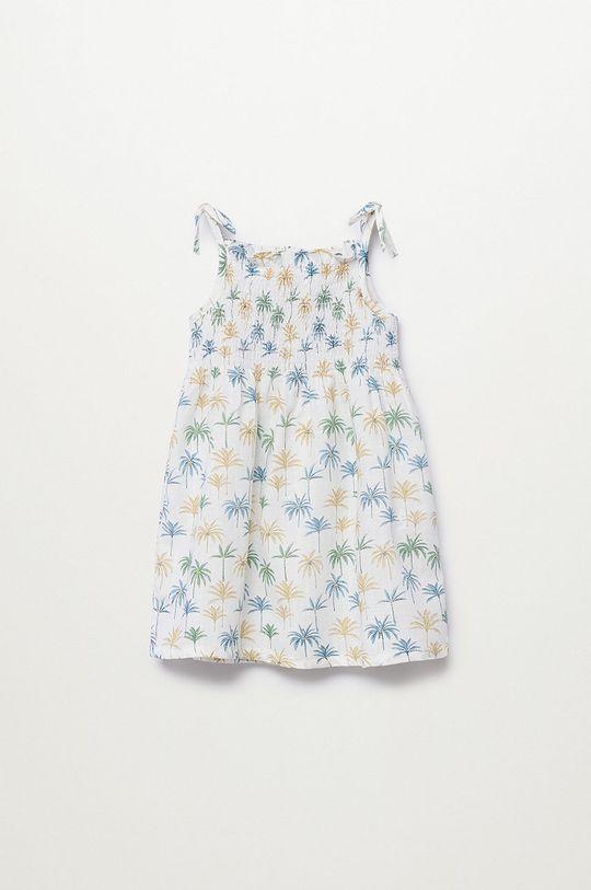 modrá Mango Kids - Dívčí šaty JULES