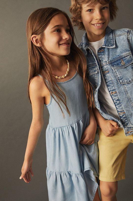 Mango Kids - Sukienka dziecięca HAWAI Dziewczęcy