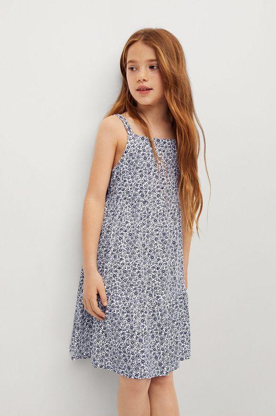 námořnická modř Mango Kids - Dívčí šaty CAMERUN Dívčí
