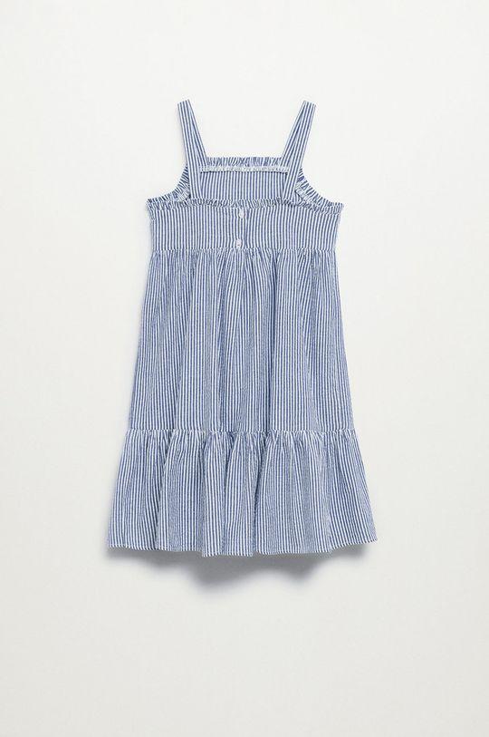 Mango Kids - Dětské bavlněné šaty Finja 110-164 cm