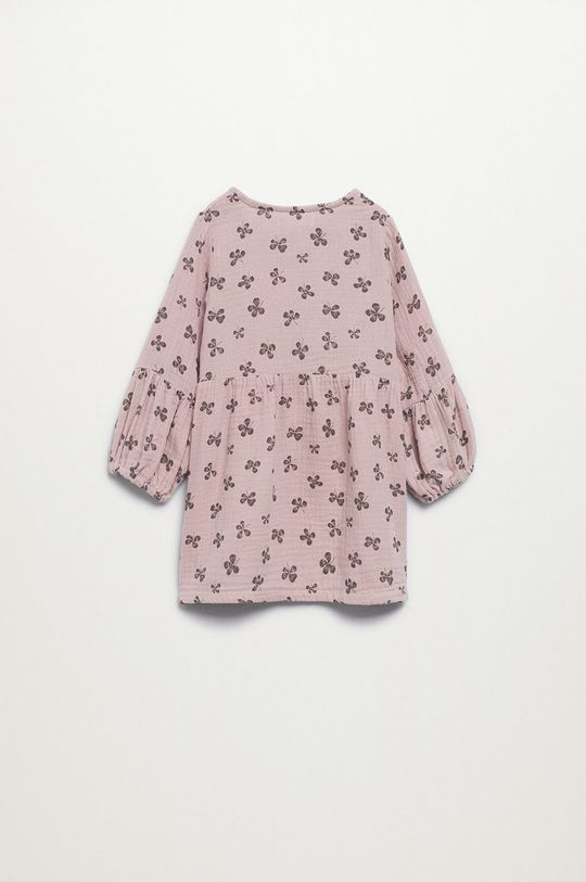 Mango Kids - Sukienka dziecięca Emily różowy