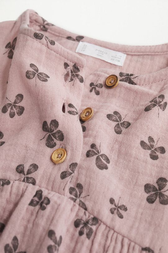 różowy Mango Kids - Sukienka dziecięca Emily