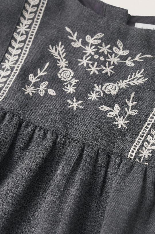 Mango Kids - Dívčí šaty Selena šedá