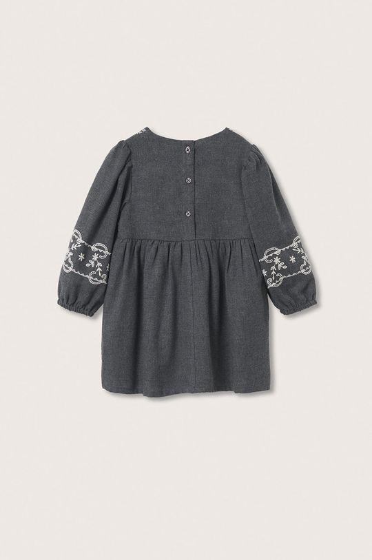 šedá Mango Kids - Dívčí šaty Selena