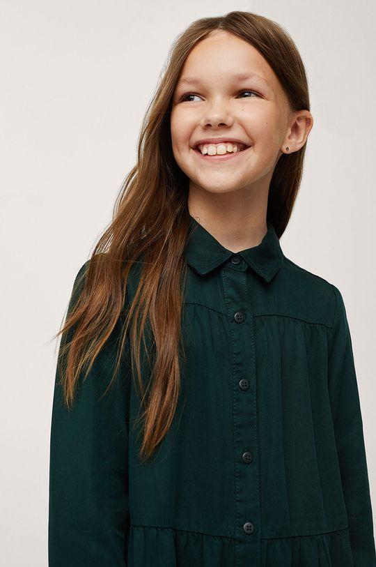 Mango Kids - Dívčí šaty Sunday  100% Lyocell