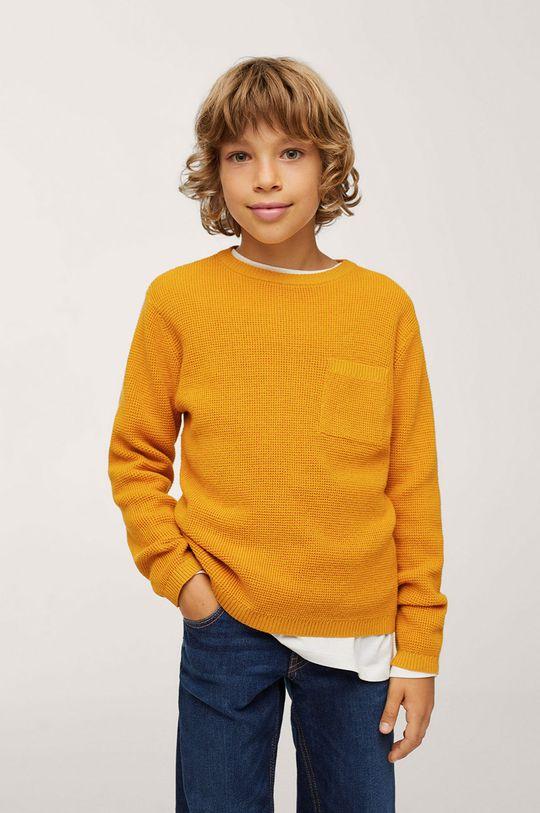 galben Mango Kids - Pulover copii Goofy De băieți