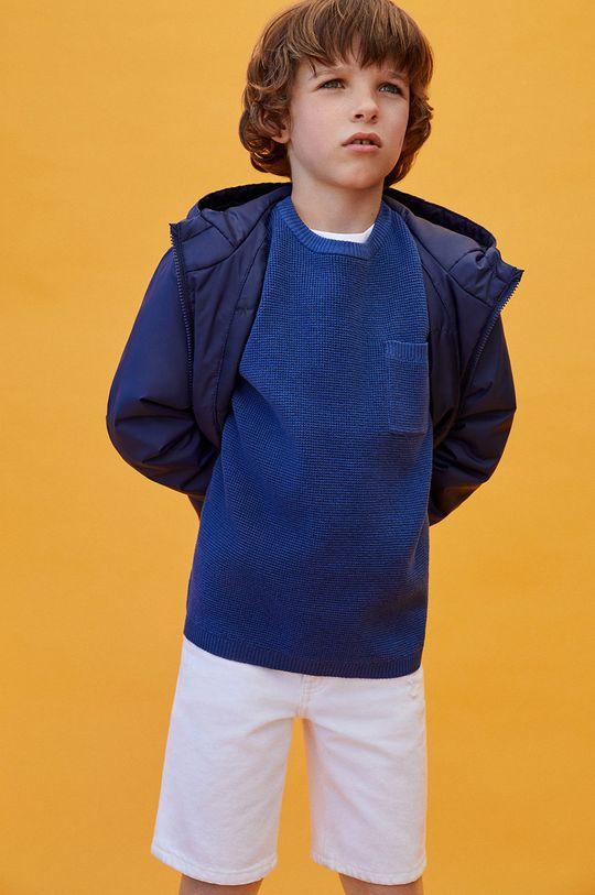 modrá Mango Kids - Detský sveter Goofy Chlapčenský