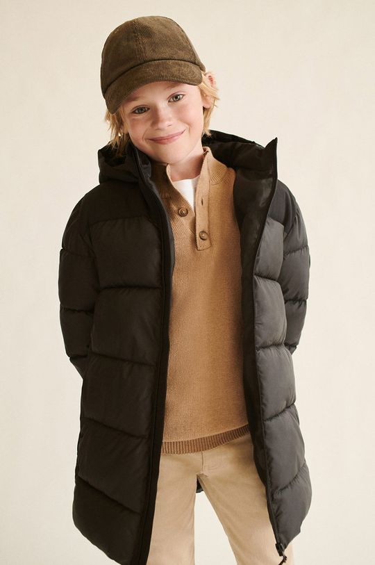 Mango Kids - Sweter Harry brązowy