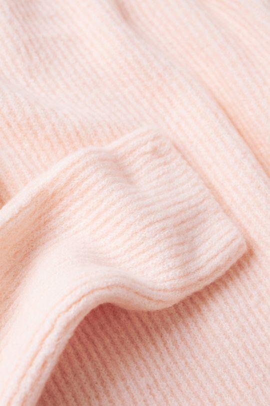 pastelově růžová Mango - Svetr Corset