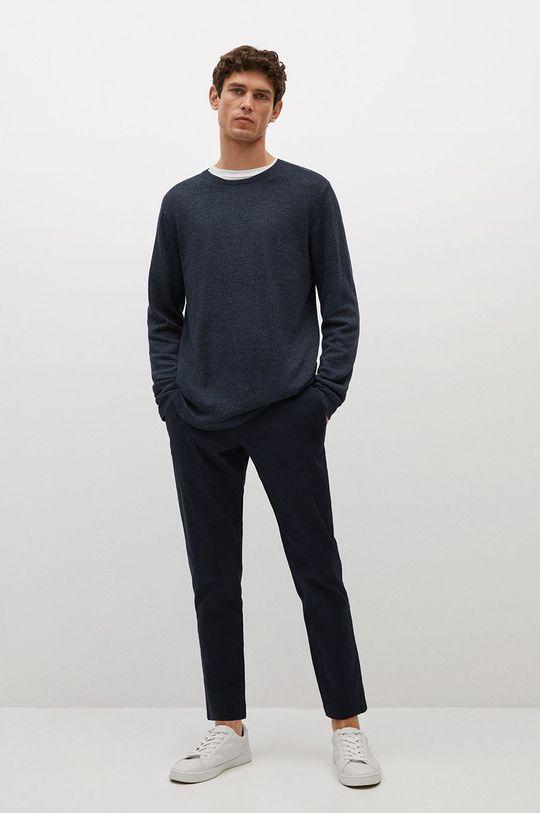 Mango Man - Sweter Avena niebieski