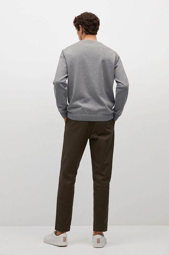 Mango Man - Svetr Tenv  75% Bavlna, 25% Polyester