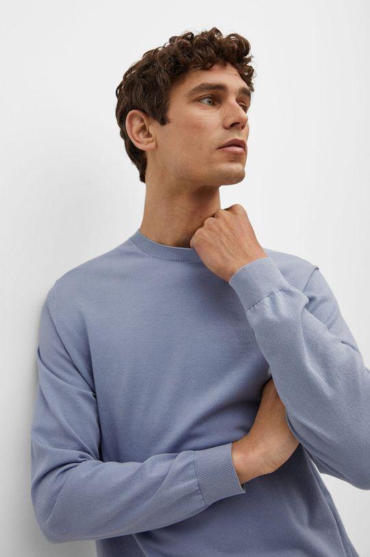blady niebieski Mango Man - Sweter Ten