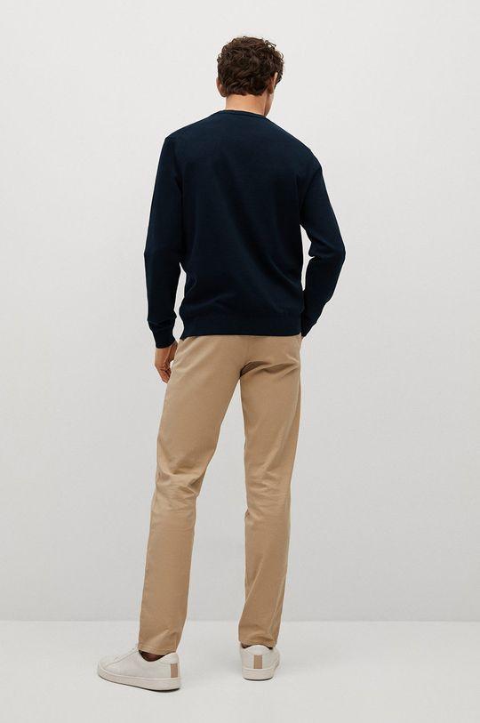 Mango Man - Sweter Ten 75 % Bawełna, 25 % Poliester