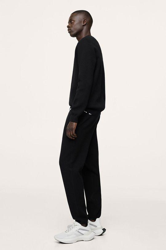 czarny Mango Man - Sweter LUXUS