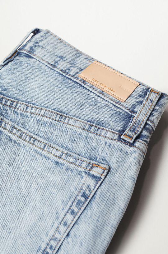 Mango - Rifľové krátke nohavice Hailey