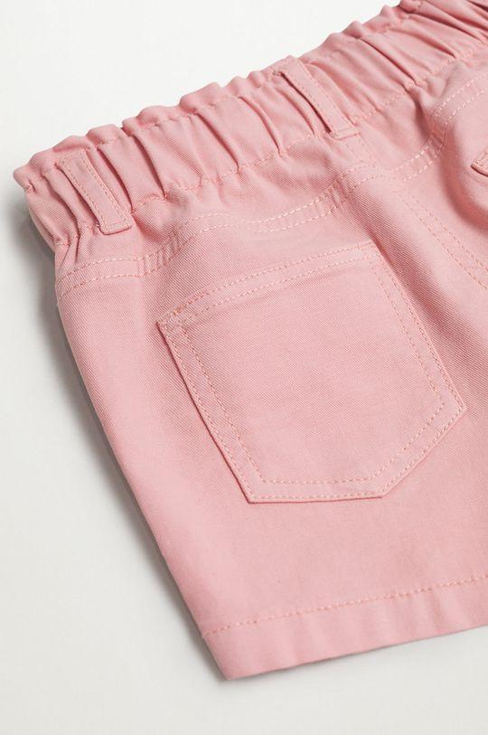 różowy Mango Kids - Szorty dziecięce Kala 86-104 cm