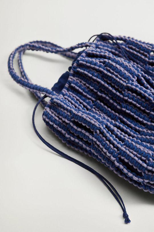 Mango - Torebka EMBOLO niebieski