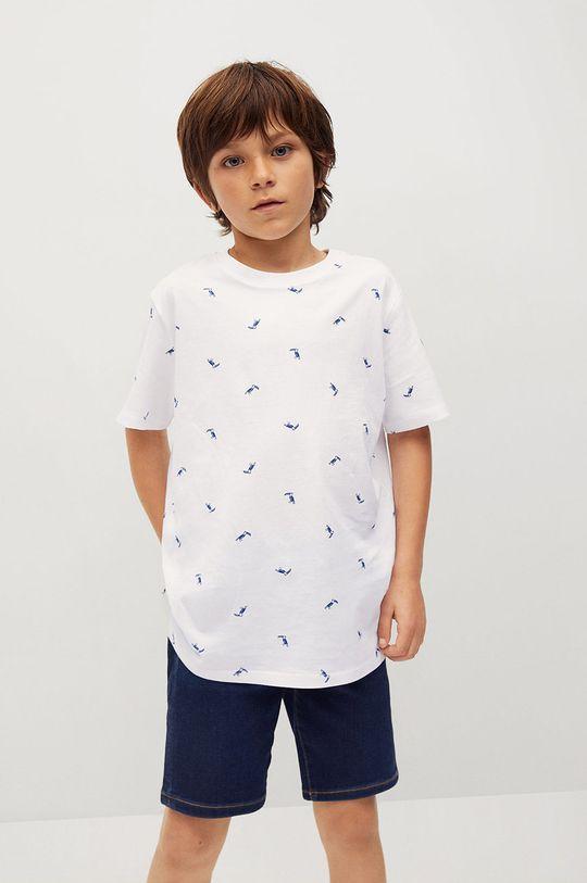 Mango Kids - T-shirt dziecięcy STAMP1 100 % Bawełna