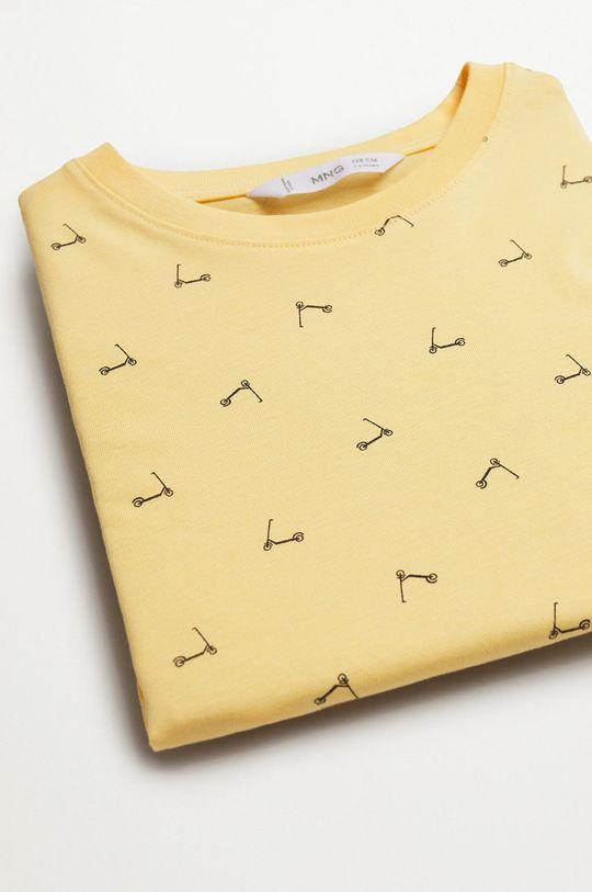 żółty Mango Kids - T-shirt dziecięcy STAMP1