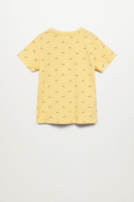 Mango Kids - T-shirt dziecięcy STAMP1 Chłopięcy