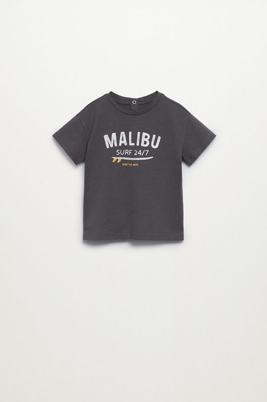 sivá Mango Kids - Detské tričko MALIBU Chlapčenský