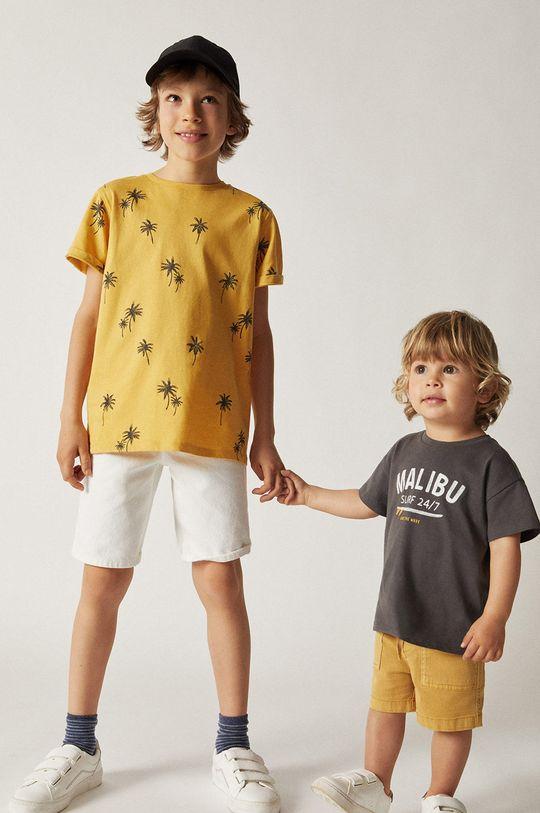 Mango Kids - Detské tričko MALIBU sivá