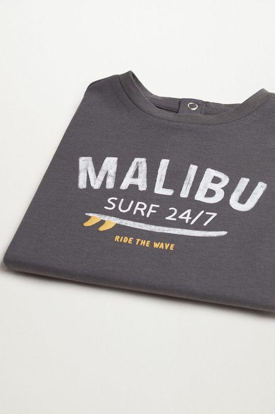 sivá Mango Kids - Detské tričko MALIBU
