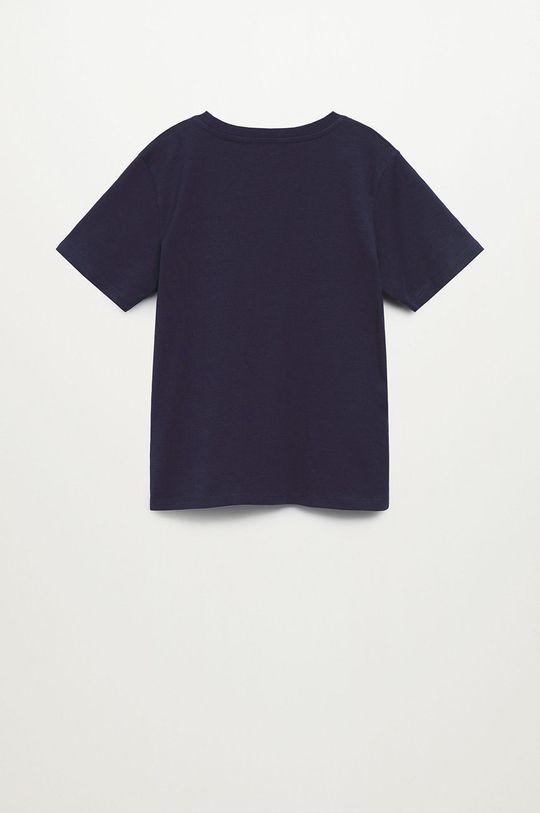 granatowy Mango Kids - T-shirt dziecięcy WINNER