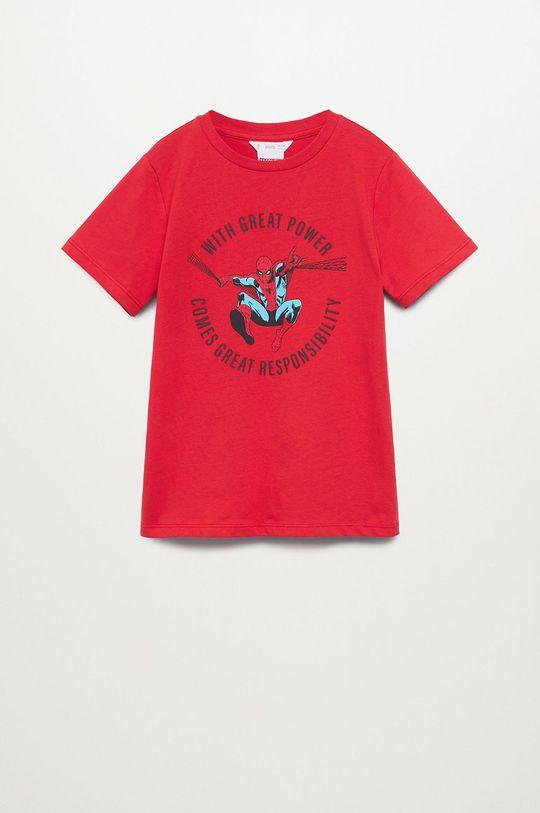Mango Kids - Dětské tričko POWER Chlapecký