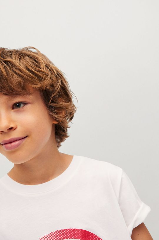 Mango Kids - Detské tričko CIRCLE  100% Bavlna