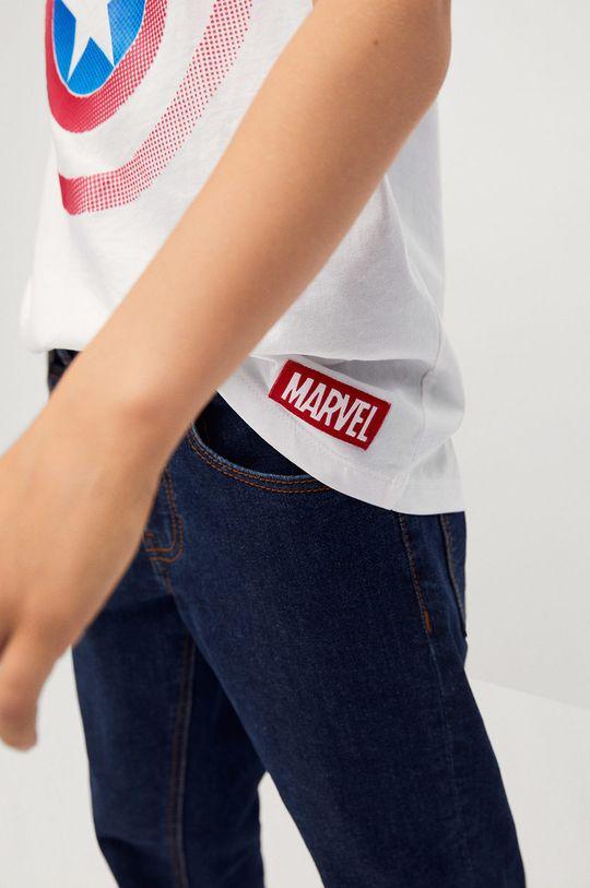 biela Mango Kids - Detské tričko CIRCLE