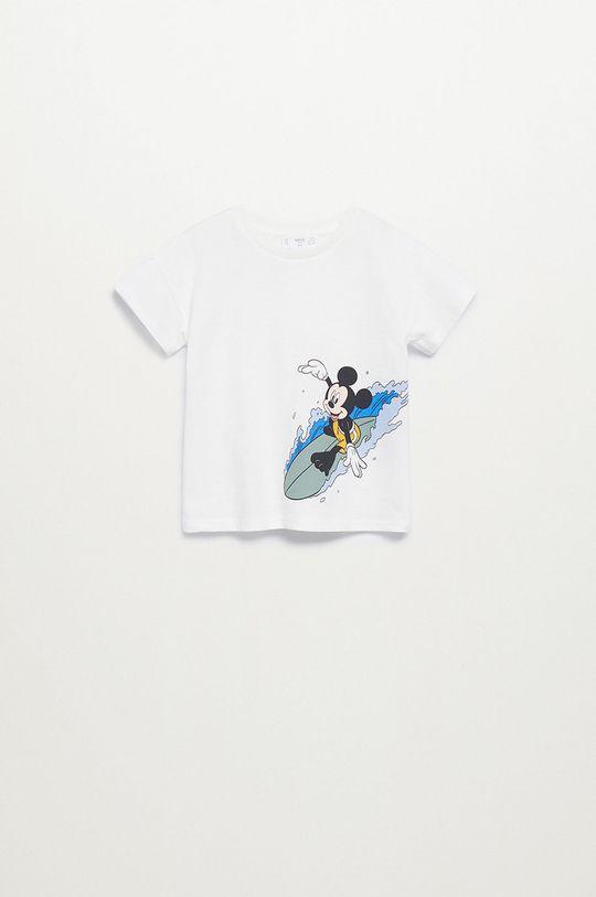 biela Mango Kids - Detské tričko SURFER Chlapčenský