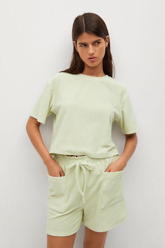 zelená Mango - Tričko BELITO Dámský