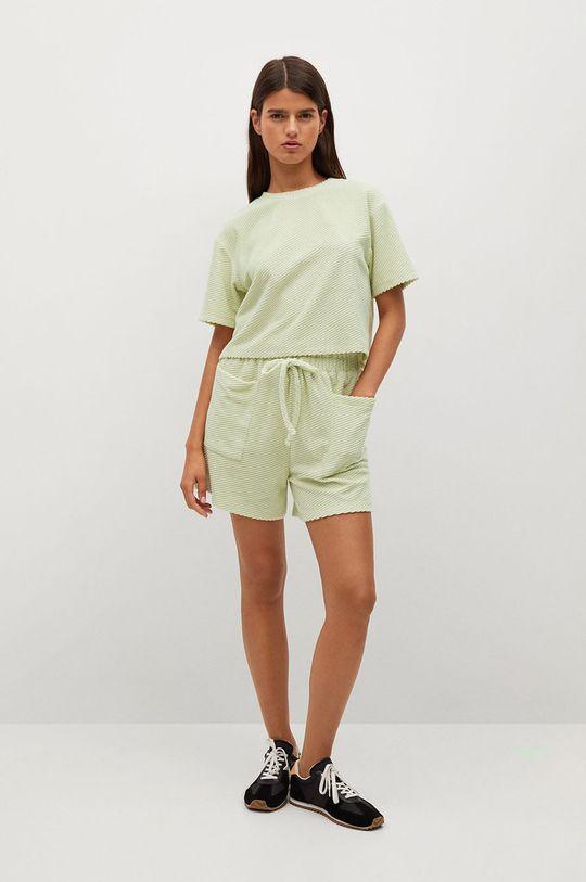 Mango - Tričko BELITO zelená