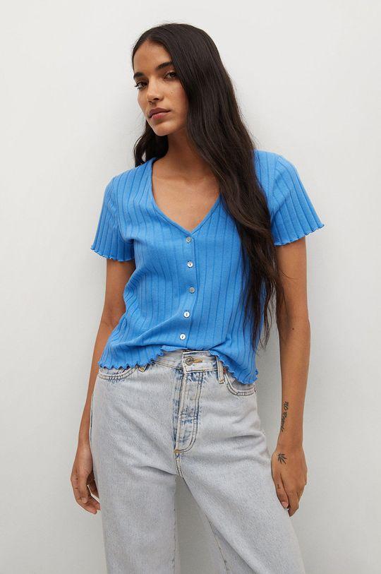 modrá Mango - Tričko ATENAS Dámský