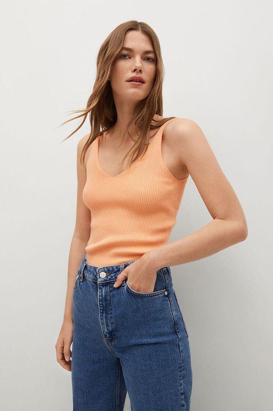 jasně oranžová Mango - Top GIMNASTI