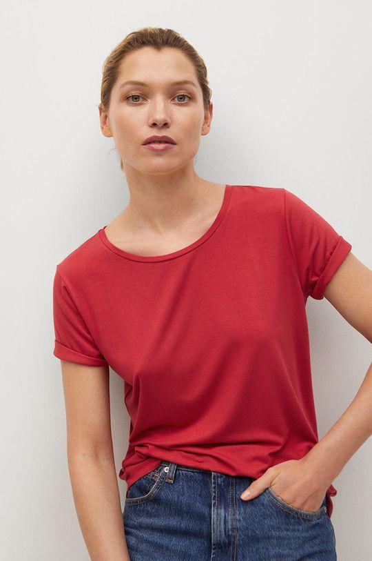 červená Mango - Tričko Visca Dámský