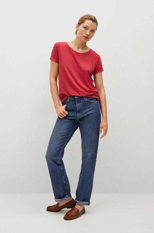 Mango - Tričko Visca červená