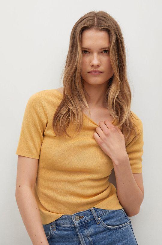žlutá Mango - Tričko Khan Dámský