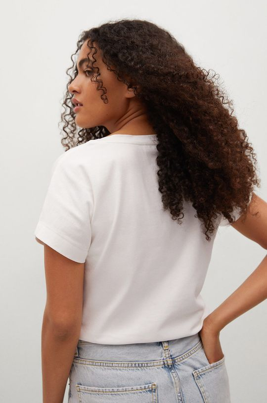 Mango - T-shirt bawełniany Sevilla1 100 % Bawełna