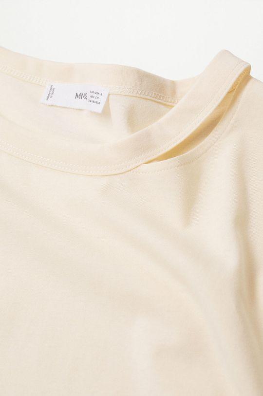 Mango - Bavlněné tričko s dlouhým rukávem Spcati