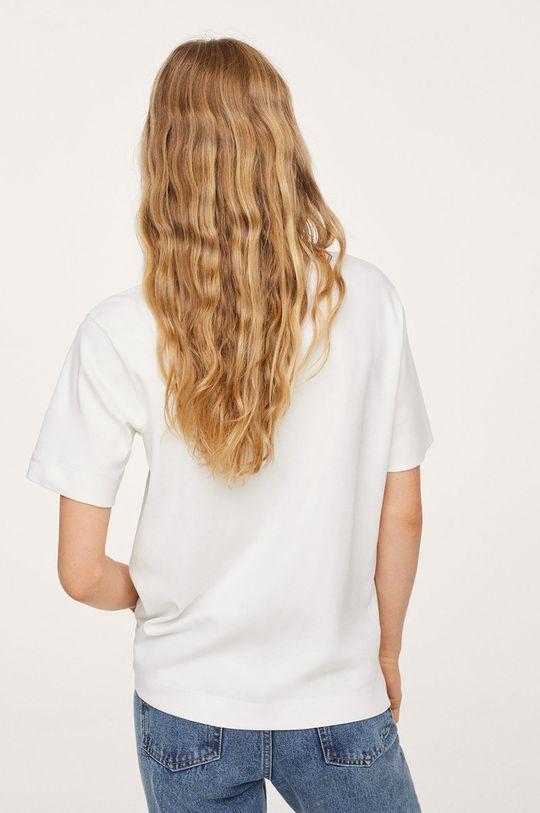 Mango - Bavlněné tričko Soli  100% Bavlna