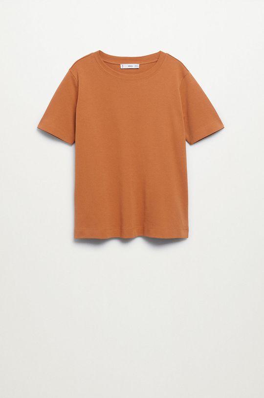 Mango - Bavlněné tričko Soli